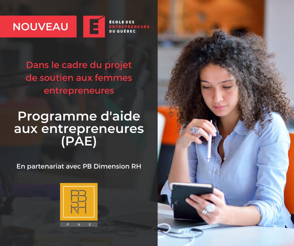 Annonce PBRH PAE - SFE - Réseaux sociaux